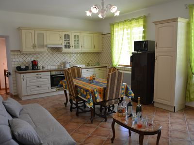 Photo for Stylish apartment. Near Medieval City entrance. Private parking. 4 people.