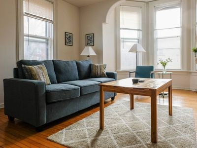 Photo for Historic + Spacious 1BR w/ Parking | Walk to Lake!