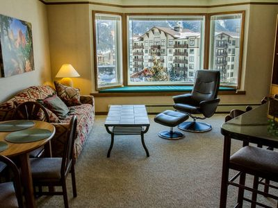 Photo for Stunning SKY Chute Views! Hot Tub, 5 Minutes From Center Village Lifts and Bars- Bike and Ski Locker