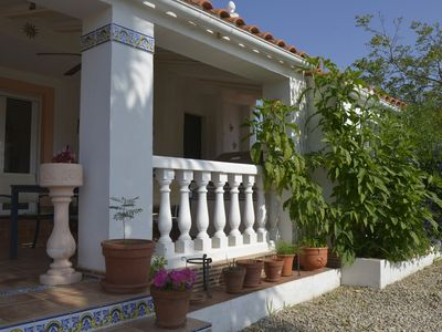Photo for Charming villa with private pool, beautiful garden and several terraces