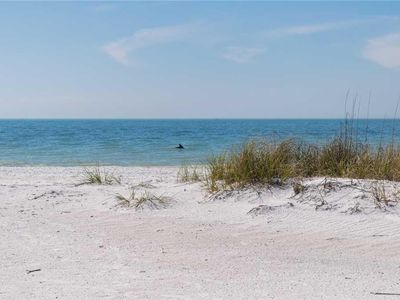 Photo for Peaceful and Relaxing 2BR/2BA Gulf Front Home Steps from the Beach, w/ Free Wifi