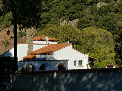 Photo for Luxury villa with spectacular views of the mountain and facing the relaxing River