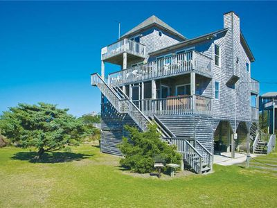 Photo for Easy Windsports Access, Just 10 Yards Away! Soundfront, Salvo w/ Hot Tub & More