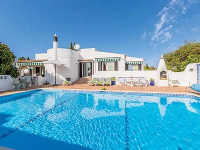 Photo for Large villa close to beach and shops w/ sea views, pool + outdoor dining