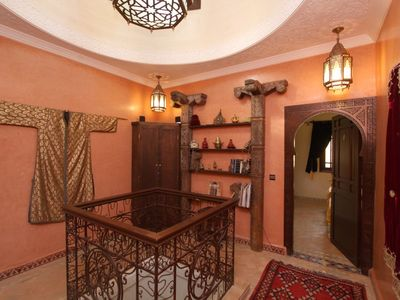 Photo for villa Riad .. 4 bedroom .. private picine and free parking