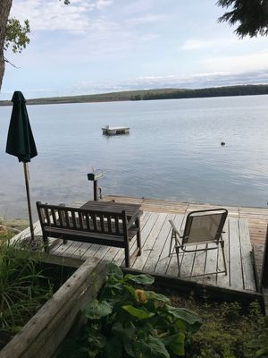 Photo for NEW! Lakeside Cottage on Beautiful Great Pond!