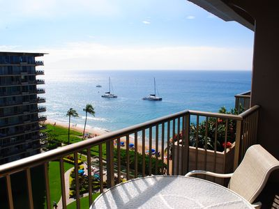 Photo for Oceanview Courtyard Studio Condo -The Whaler - Kaanapali Beach - NEWLY REMODELED