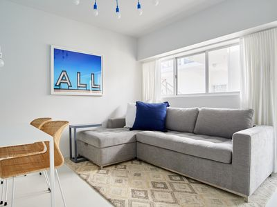 Photo for Sonder | South Beach | Bright 1BR + Outdoor Pool