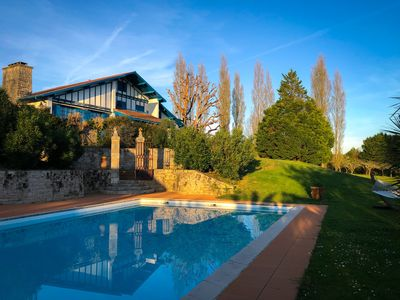 Photo for Prestigious villa 15 minutes from Biarritz