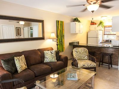 Photo for 71-3 Secluded lanai is a great feature of this lovely one bedroom in Puamana