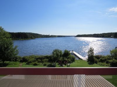 Photo for SUPERB LAKEFRONT PROPERTY AND IDYLLIC SETTING FOR A MEMORABLE STAY