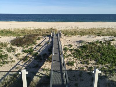 Photo for Oceanfront Hamptons Beach House - Dune Road, Westhampton Beach
