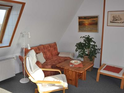 "Photo for Holiday apartment ""Dachstudio Weitblick"" - ""Haus Pahl"" 2 apartments with sea view"
