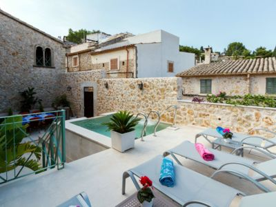 Photo for Stylish, traditional Mallorcan house in the centre of Pollensa old town