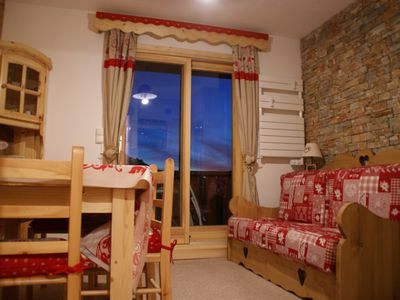 Photo for 2BR Apartment Vacation Rental in Montvalezan, Auvergne-Rhône-Alpes