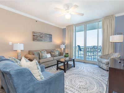 Photo for Warm, welcoming condo on Okaloosa Island! Washer/dryer in-unit! Waterfall + lazy river on-site!