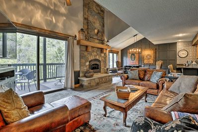 Book your high-end Steamboat Springs escape to this 3-bedroom, 3-bath townhome!