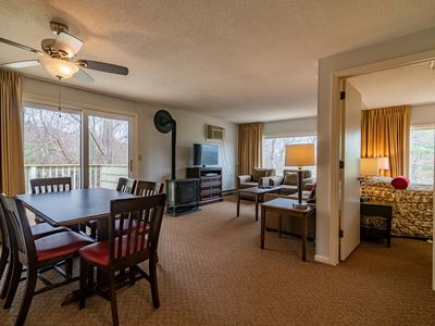 Photo for Condo minutes from Stowe Mountain with 2 bedrooms