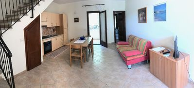 Photo for Lu Fraili centrale apartment in San Teodoro with private parking, private roof terrace & balcony.