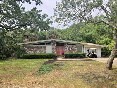 Photo for Charming Beach House w/Private Pool & Golf Cart