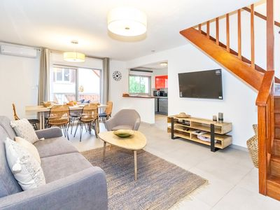 Photo for Pinacle - beautiful duplex renovated near Grand-Fond beach - St Gilles