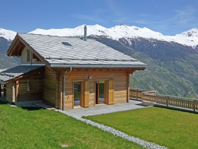 Photo for Brand new comfortable chalet in the ski area of Quatre Vallees