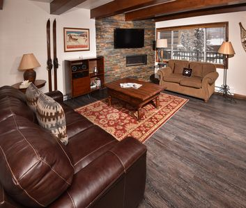Photo for Remodeled Lionshead Village Condo w/ Hot Tubs, Free Shuttle Access, Walk to Mtn