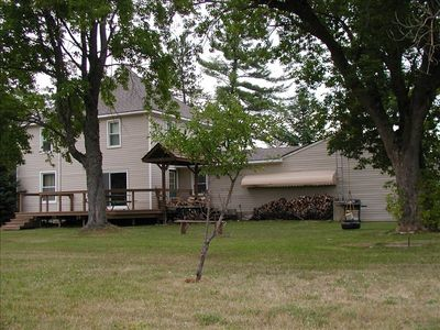 Photo for Secluded Trout stream Lodge. Sleeps 22. Great for large family reunions.