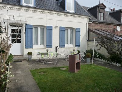 Photo for DIEPPE house with garden facing due south, the sea is 500 m