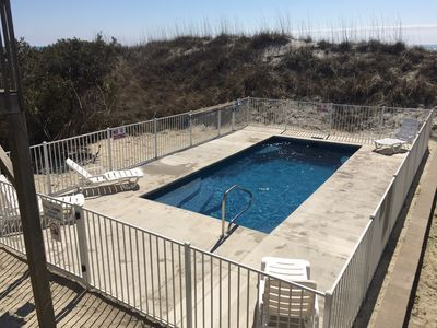 New Beachfront Salt Water POOL!!! (pool shared between West and East duplex)