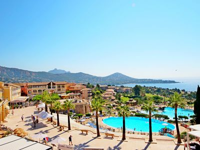 Photo for CAP ESTEREL Village Vacances T2 mer piscines E1- 1la
