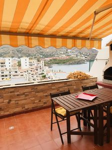 Photo for Beautiful Beach Front Apartment With Sea & Mountain Views