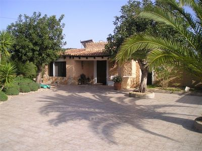 Photo for Optimally located finca with pool near the sea and by 4 golf courses