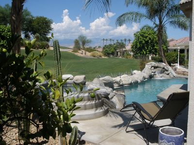 Salt water spa - pool with great Mtn. scenery and golf course/greenbelt view.