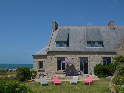 Photo for Manor Seafront, Sea view, max. 13 guests, in Southern Brittany