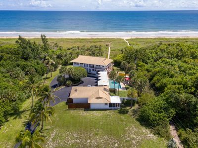 Photo for Extraordinary Beach Location, Pool and Charm!  Owners in main house for winter.