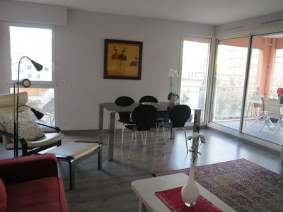 Photo for Large apartment in the city center with terrace and private parking