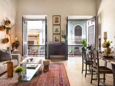 Photo for Villa Blanca   Stylish Colonial 2 Bedroom in the Heart of Historic Old San Juan