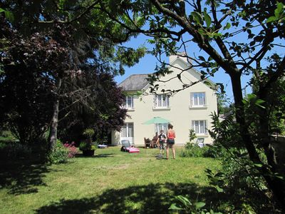 Photo for House with private enclosed garden and play area, 10 min from Dinan