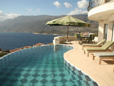 Villa in Kas With Private Pool And Sea Views