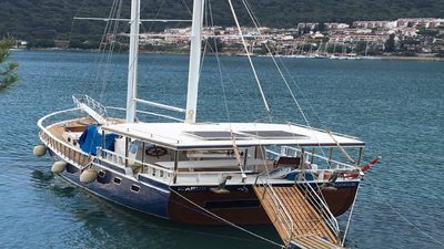 Photo for Luxury Gulet 20 meter 4 double cabins. Air conditioning Available,  ICARUS YACHT