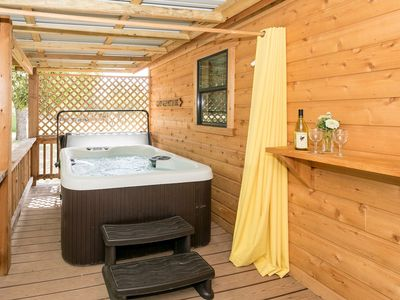 Photo for Dean's Cabin | Hot Tub | Pet-friendly