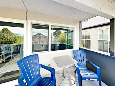 Patio - This Queen Anne duplex is professionally managed by TurnKey Vacation Rentals.