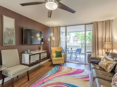 Photo for Old Town Condo*Heated Pool*Spa*Gym*Cable