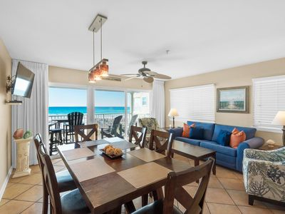 Photo for Gulf-front condo w/ beach access & balcony overlooking the water!