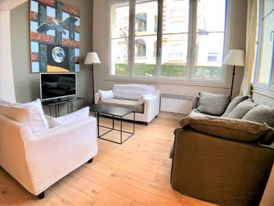Photo for Nice apartment in Deauville - Royal Hotel - 6 people - Private car park - 100m²