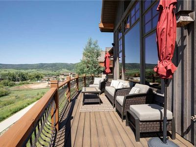 Photo for Luxury Steamboat Summer Home - Amazing mountain views, and private hot tub!