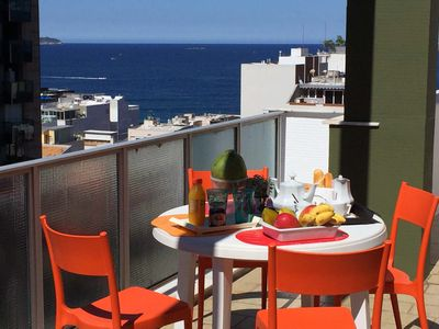 Photo for DUPLEX IPANEMA SEA VIEW - SWIMMING POOL