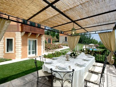 Photo for Prestigious villa between Venice and the Dolomites, on the Prosecco hills