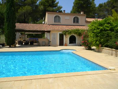 Photo for VILLA 6 PEOPLE WITH SWIMMING POOL IN PROVENCE NEAR MARSEILLE